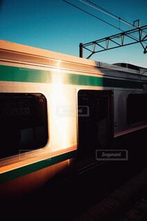 電車の写真・画像素材[4344077]