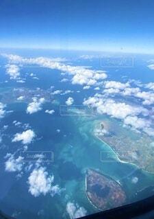 飛行機からの絶景の写真・画像素材[4764011]