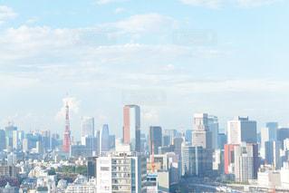 東京タワーが見える場所の写真・画像素材[2163994]