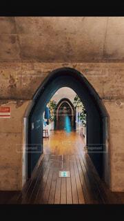 石造りの建物の眺めの写真・画像素材[4352480]