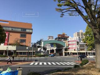 駅前の写真・画像素材[185462]