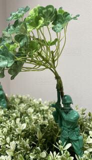 アーミーマン(兵士)のフィギュアの写真・画像素材[4369209]