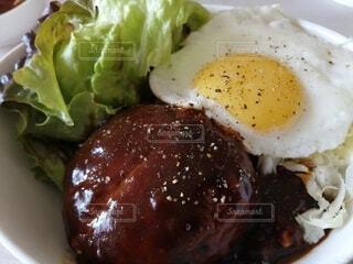 ロコモコ丼の写真・画像素材[4459971]
