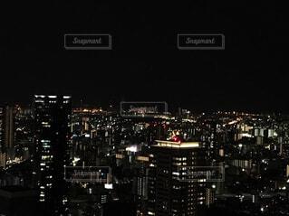 夜の街の写真・画像素材[4377322]