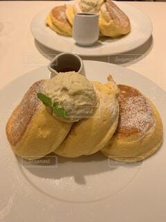 ふわふわパンケーキの写真・画像素材[4398374]