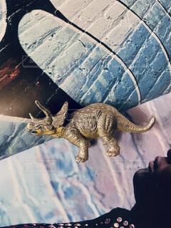 恐竜のトイの写真・画像素材[4358519]