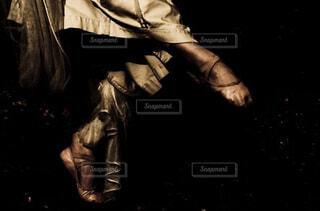 表現力と脚の写真・画像素材[4362039]