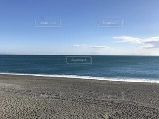 どこまでも続く水平線の写真・画像素材[4359642]
