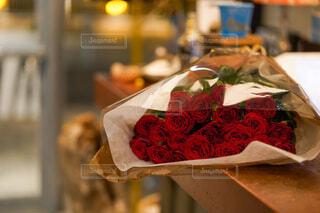 バラの花束の写真・画像素材[4361634]