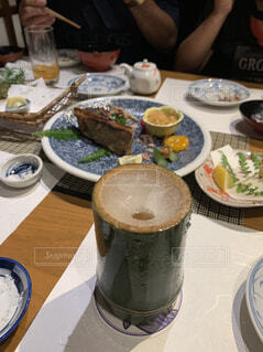 竹酒の写真・画像素材[4361636]