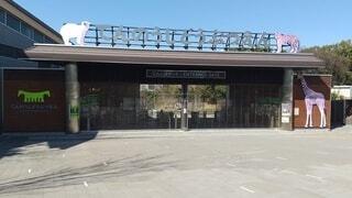 天王寺動物園正面の写真・画像素材[4360297]