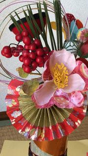 正月飾り クローズアップの写真・画像素材[4461027]