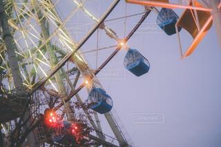 観覧車の写真・画像素材[4362966]