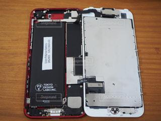 iPhone7 修理の写真の写真・画像素材[4371973]