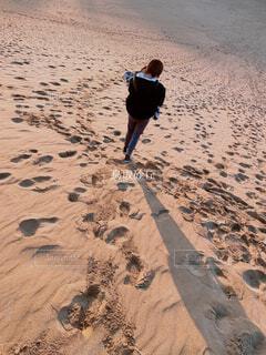 砂浜の写真・画像素材[4366633]