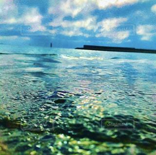 水面の写真・画像素材[4370652]