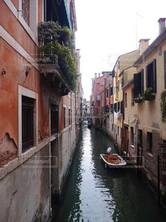 ヴェネツィアの街並みの写真・画像素材[4375918]