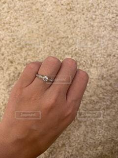 婚約指輪の写真・画像素材[4776576]