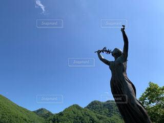 緑の女神の写真・画像素材[4585034]