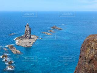 神威岩の写真・画像素材[4668763]