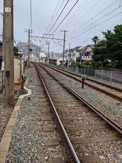 線路の写真・画像素材[4556645]
