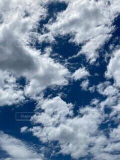 空の雲達の写真・画像素材[4669188]
