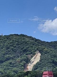 土砂崩れの写真・画像素材[4698454]
