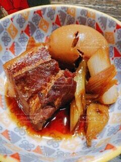 豚の角煮の写真・画像素材[4382593]