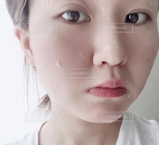 ピーリングで美肌ケアの写真・画像素材[4744787]