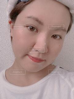 女性のクローズアップの写真・画像素材[4767421]