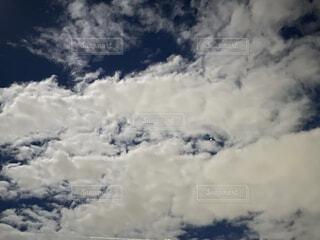 雲の間から星が!!の写真・画像素材[4834409]