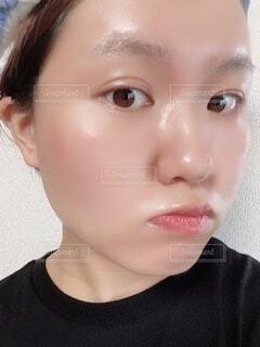オイルでツヤツヤ肌の写真・画像素材[4939275]