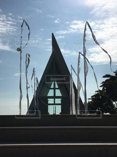 バリ コンラッドホテルの教会の写真・画像素材[346779]