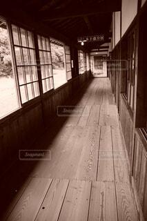 学校の廊下の写真・画像素材[4391464]