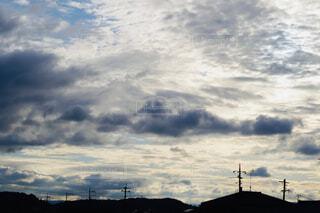 梅雨空の写真・画像素材[4564743]