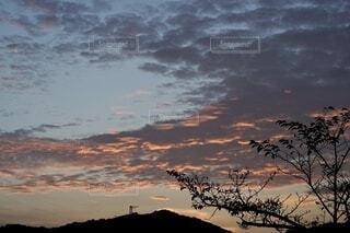 夜明けの空の写真・画像素材[4796645]