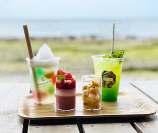 沖縄 星のやのバンタカフェの写真・画像素材[4387658]
