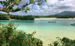 沖縄旅行、海の景色の写真・画像素材[1035499]
