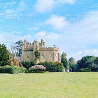 イギリス郊外のカントリーハウスの写真・画像素材[4396132]