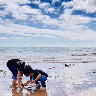 休日を海で過ごしましたの写真・画像素材[4567899]
