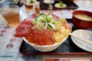 海鮮丼の写真・画像素材[4397336]
