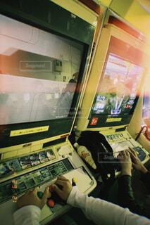 レトロなゲーム機の写真・画像素材[4399199]