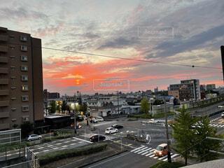 街の通りの眺めの写真・画像素材[4814334]