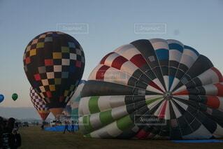 圧巻の気球の写真・画像素材[4418986]