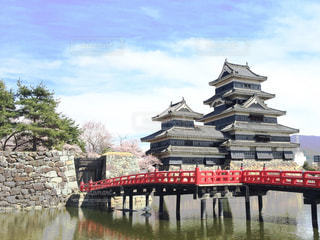 I♡松本城の写真・画像素材[201716]