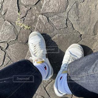 スニーカーの写真・画像素材[4417819]