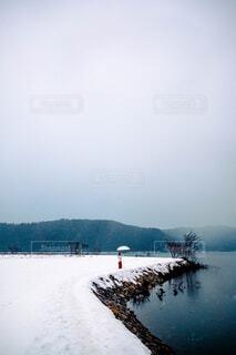 雪原の写真・画像素材[4454212]