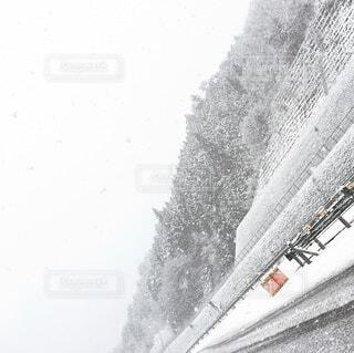 トンネルを抜けると雪国でしたの写真・画像素材[4463509]