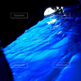 青の洞窟の写真・画像素材[4434858]