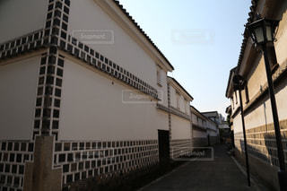 白壁の町並みの写真・画像素材[1226973]